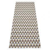 pappelina - Mose Plastic Rug 70x250cm - multicolour/brown