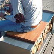 Radius - Panneau en bois