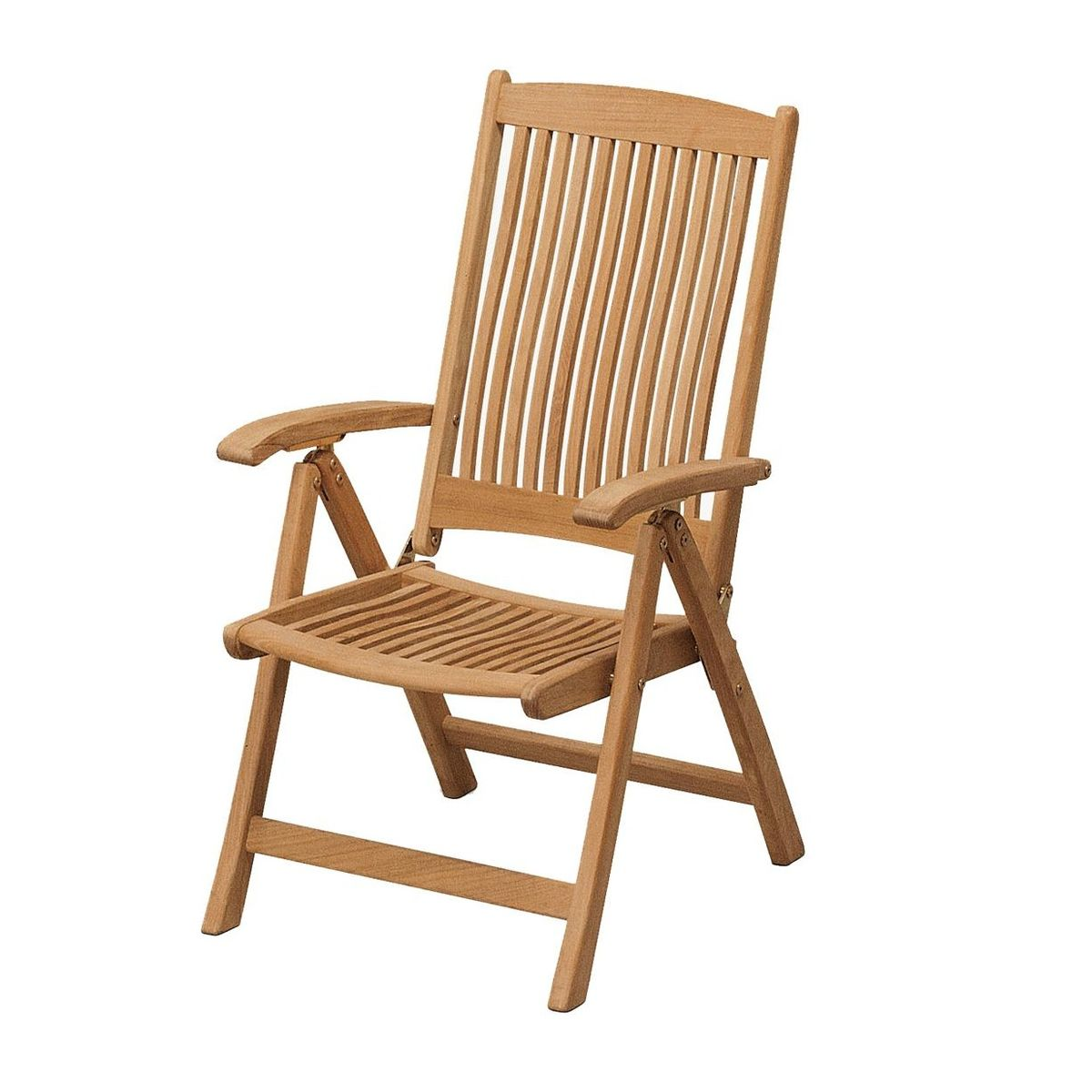 Columbus chaise de jardin teck skagerak - Chaise teck jardin ...