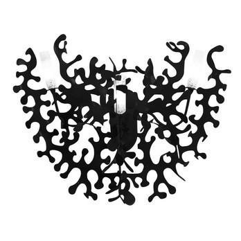 Lumen Center Italia - Coral 21 Wandleuchte - schwarz/Metall/Gehäuse lackiert