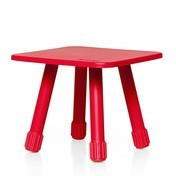 Fatboy - Tablitski Beistelltisch - rot/40x40x30cm