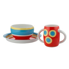 Alessi - Alessini Kindergeschirr 3er Set