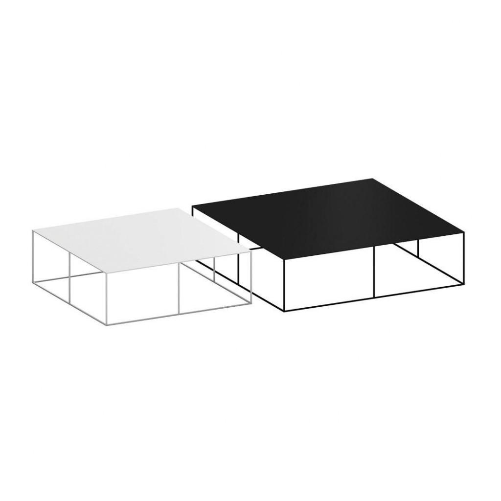 Slim Irony Coffee Table 124x124cm Zeus