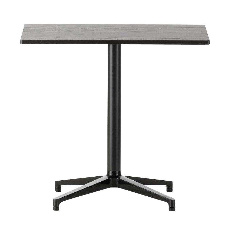 Vitra Bistro Table Rectangular Dark Oak Basic