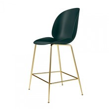 Gubi - Beetle Counter Chair Barhocker Messing 108cm