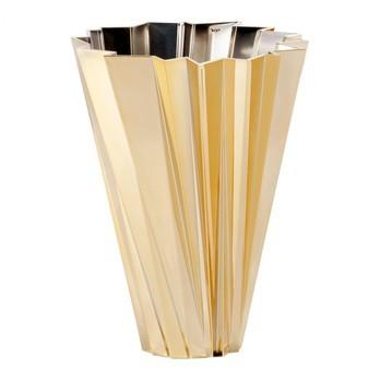 Kartell - Shanghai Metallic Vase - gold/glänzend