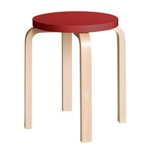 Artek - E60 Stool Clear Lacquered Base