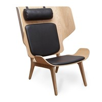 NORR 11 - Mammoth Slim Lounge Chair Leather