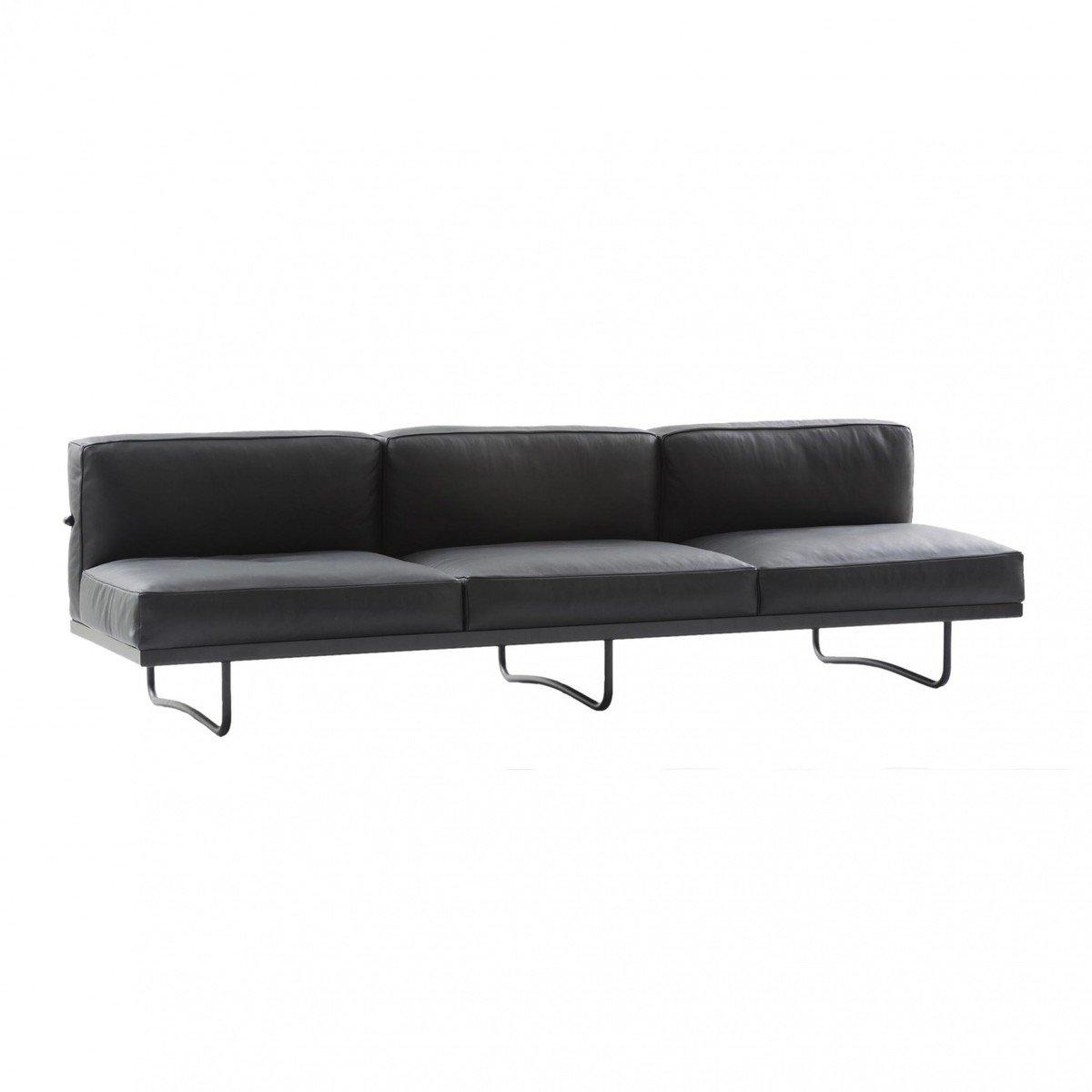 Cassina   Le Corbusier LC5 3 Sitzer Sofa 256x78cm   Grafite ...