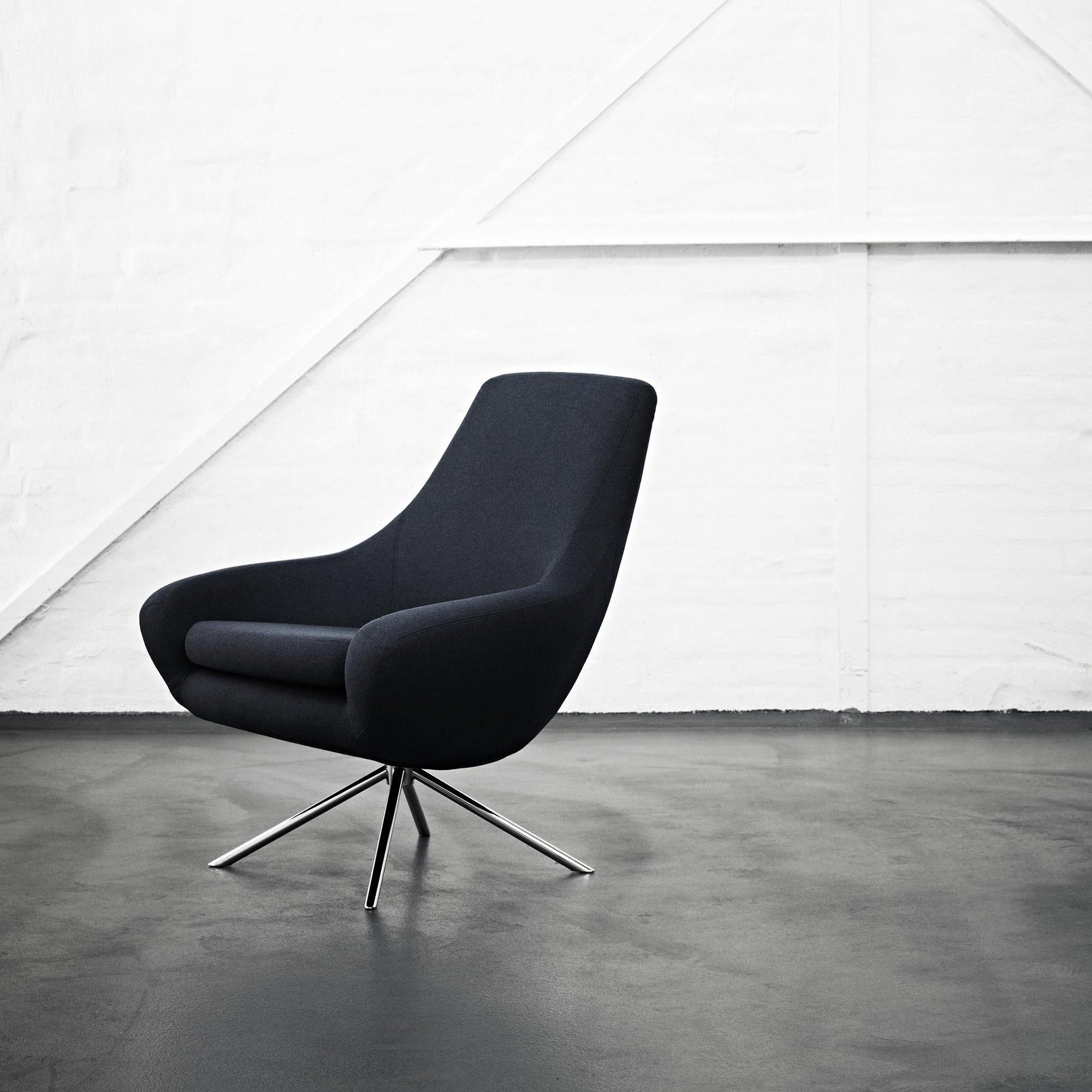 softline noomi lounge chair ambientedirect