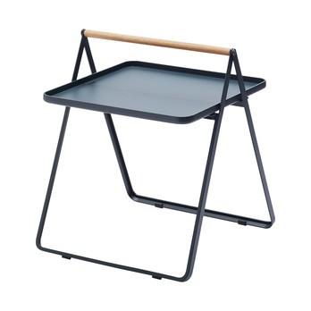 Skagerak - By Your Side Table Garten Beistelltisch H 49cm - dunkelblau/LxBxH 42x43x49cm