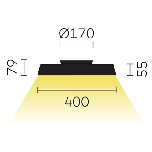 Belux - Koi-S LED Deckenleuchte