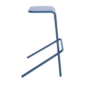 Cappellini - Alodia Barhocker 80cm - blau