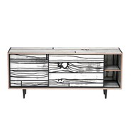 Established & Sons - Wrongwoods Low Cabinet 150cm