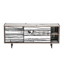 Established & Sons - Established & Sons Wrongwoods sideboard laag 150cm