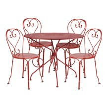 Fermob - 1900 Garden Set 4 Chairs