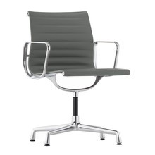 Vitra - EA 104 Aluminium Chair Armchair Leather