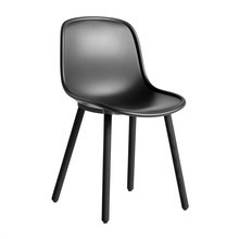 HAY - Neu 12 Chair Soft Black Stained Oak Base