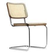 Thonet - Chaise cantilever S 32 V avec clayonnage