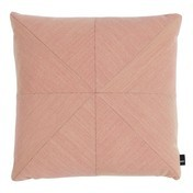 HAY - Puzzle Cushion Pure Sofakissen 50x50cm - candy rosa/Stoff Steelcut Trio 515