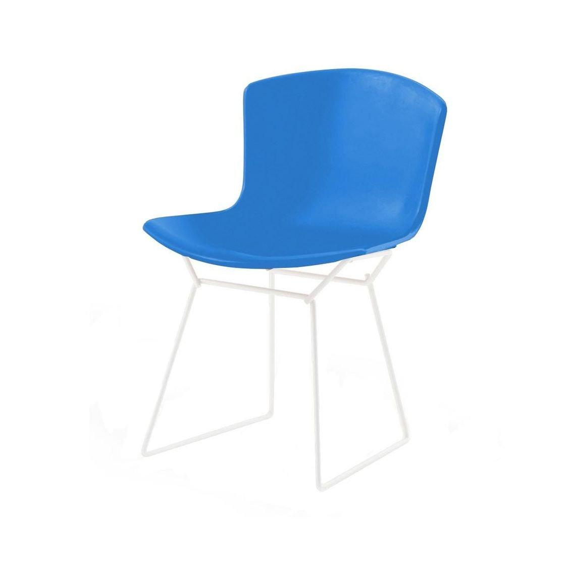 Bertoia Plastic Side Chair white   Knoll International ...