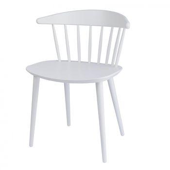 HAY - J104 Armlehnstuhl - weiß/lackiert