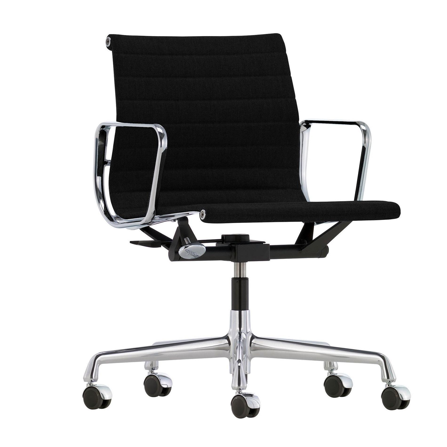 vitra ea 117 alu chair bureaustoel verchroomd ambientedirect. Black Bedroom Furniture Sets. Home Design Ideas