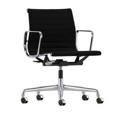 Vitra - Chaise de bureau EA 117 Alu Chair chromé