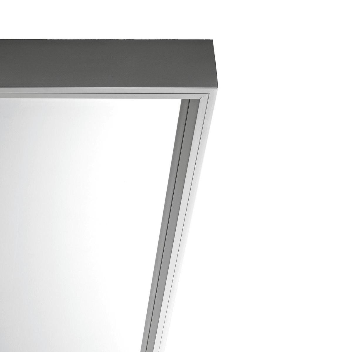 Extra large spiegel met rollen 186x50cm kristalia for Spiegel extra