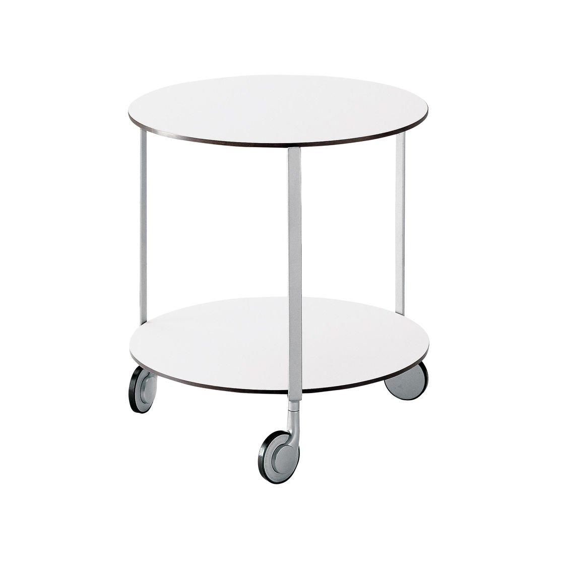 Zanotta gir mesa auxiliar con ruedas ambientedirect - Mesa auxiliar con ruedas ...