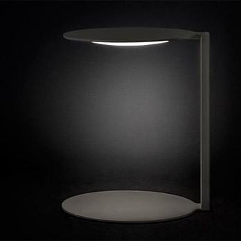 Oluce - Duca 2950 LED Tischleuchte - opal/H x B: 38 x 33cm