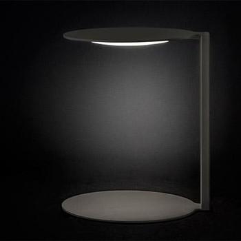 - Duca 2950 LED Tischleuchte - opal/H x B: 38 x 33cm