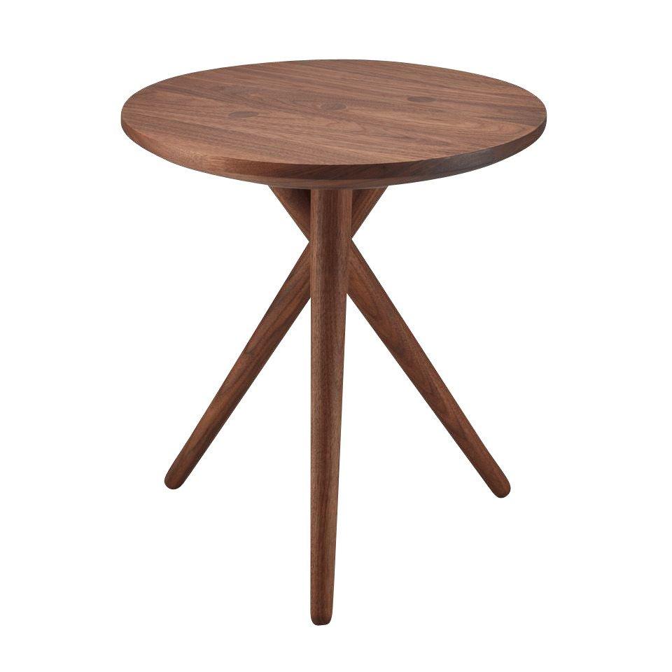 ... Thonet   Thonet 1025 Coffee Table   Walnut Oiled/Ø X H: 45 X