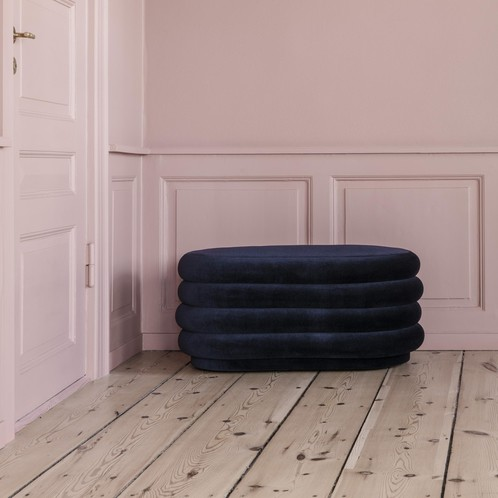 ferm LIVING - ferm LIVING Pouf/Hocker oval