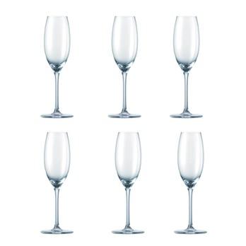 Rosenthal - diVino Sektglas H:21,5cm Set 6tlg. - transparent/Glas/H: 21,5cm