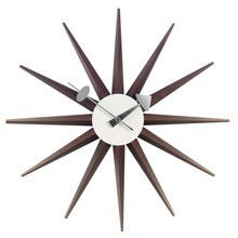Vitra - Sunburst Clock Nelson - Reloj de pared