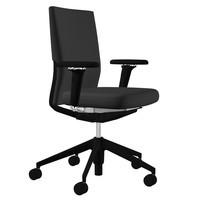 Vitra - ID Soft Bürostuhl Gestell schwarz
