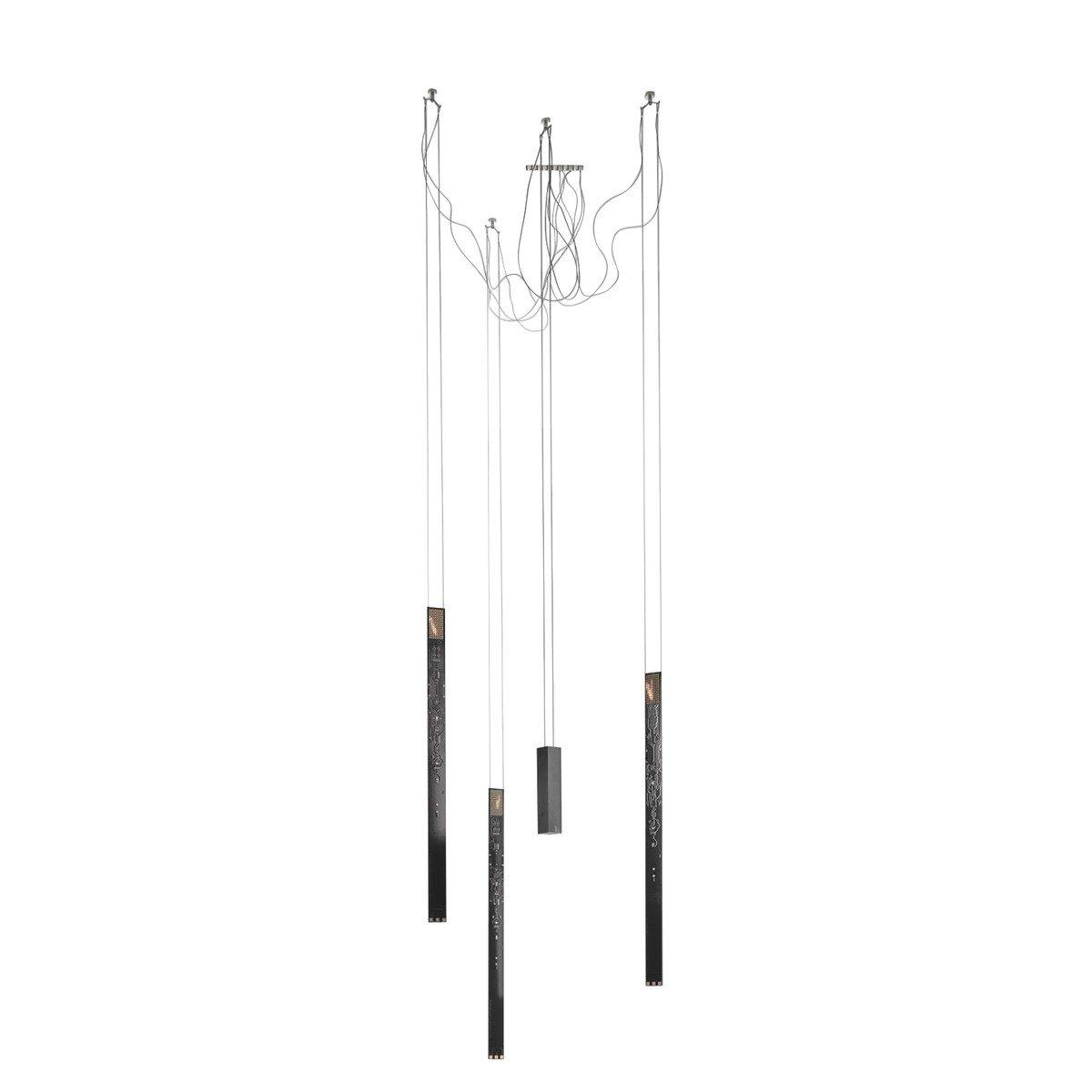 flying flames suspension ingo maurer. Black Bedroom Furniture Sets. Home Design Ideas