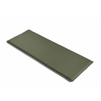 HAY - Palissade Sitzkissen 107.5x43.5cm - olivgrün/wasserabweisend/für Palissade Dining Bank