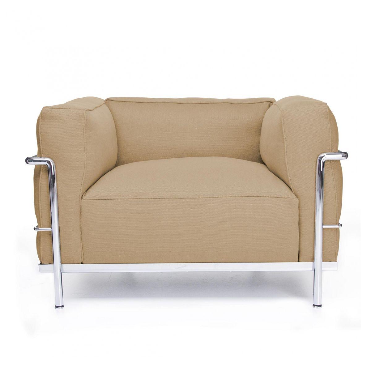 le corbusier lc3 fauteuil cassina cassina lc le corbusier. Black Bedroom Furniture Sets. Home Design Ideas