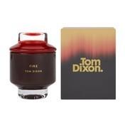Tom Dixon - Scent Elements Fire Duftkerze Medium - rot/Cypriol Öl/Guajak/Amber/Moschus
