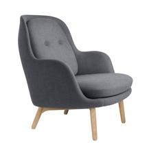 Fritz Hansen - Fri™ JH5 Sessel mit Eichengestell