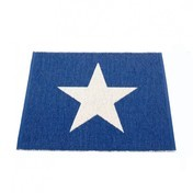 pappelina - Viggo One Teppich 70x50cm - blaubeer/vanille