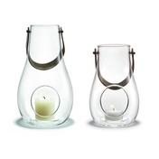 Holmegaard - Design with Light Laternen-Set 2tlg. - transparent/H: 16cm + 24,8cm