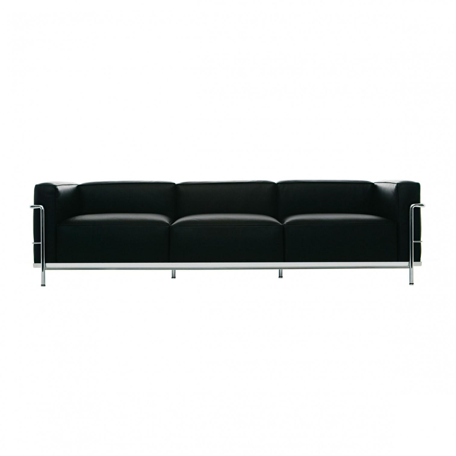 Cina Le Corbusier Lc3 Sofa 3 Seater