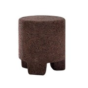 Gervasoni - Table d'appoint / tabouret Cork 45 rond