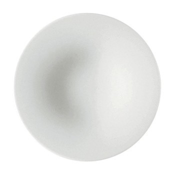 Alessi - KU Kaffee-Untertasse Set 4 tlg. - weiß/Porzellan/Ø 16.5cm
