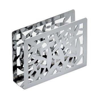 Alessi - Cactus Serviettenhalter - edelstahl/glänzend poliert/LxBxH 12x3x8,5cm