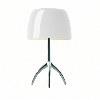 dimmer table lamp lights foscarini lumiere piccola table lamp alu with dimmer warm ambientedirect