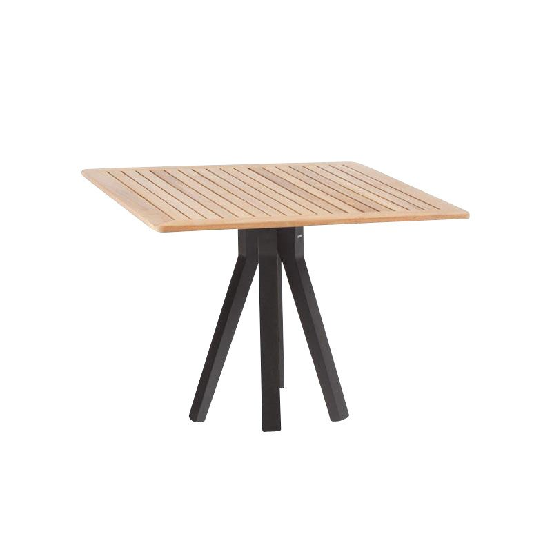 Kettal Vieques Garden Table Xcm AmbienteDirect - Teak and aluminium outdoor table